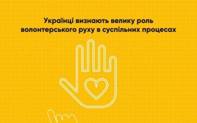 Роль волонтерства у суспільних процесах України