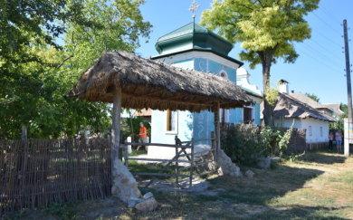 Старовинна будівля в селі Маяки Слов'янського району