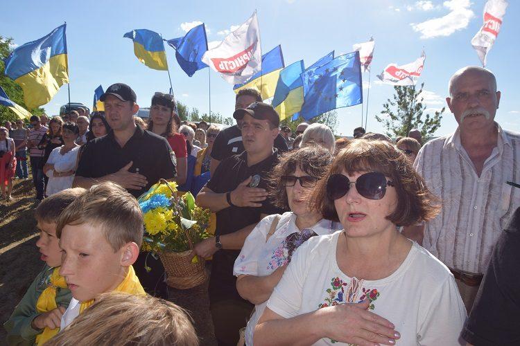 Донеччина вшанувала пам'ять загиблих воїнів під час визволення північних міст
