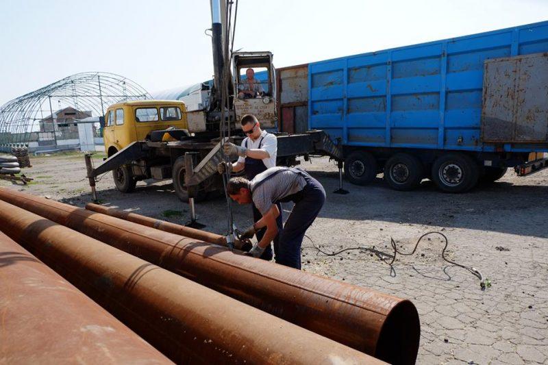 Почалося будівництво газогону Очеретине-Авдіївка