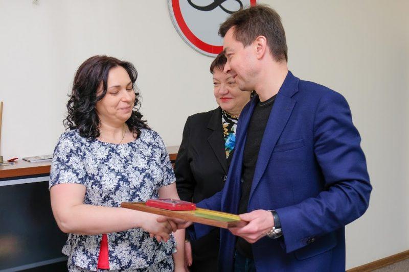 Благодійниці вручили відзнаку Президента України