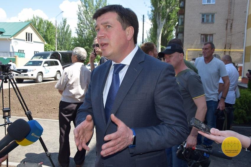 Президент Естонії відвідала гуртожиток для переселенців у Краматорську - Фото №7