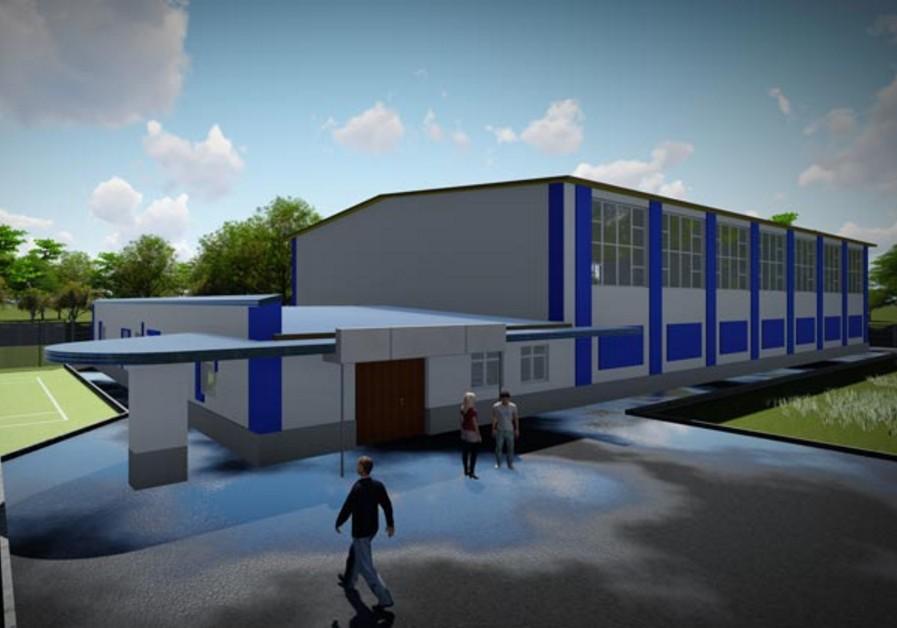 В Марганці ремонтують спортивну школу