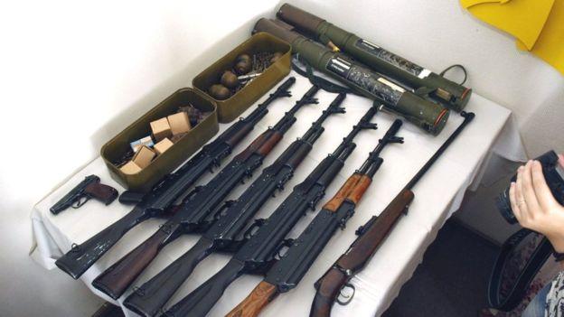 Нелегальна зброя з Донбасу в Україні
