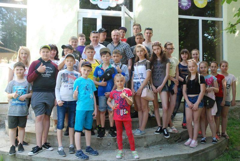Діти з прифронтової Донеччини відпочивають у різних регіонах України