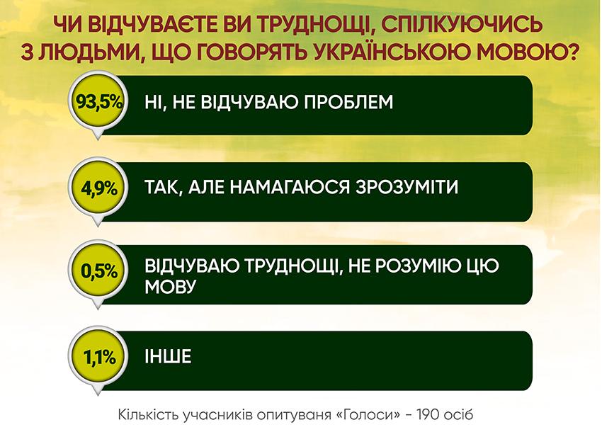 Анкетування: ГОЛОСИ про мовну проблему - Фото №5