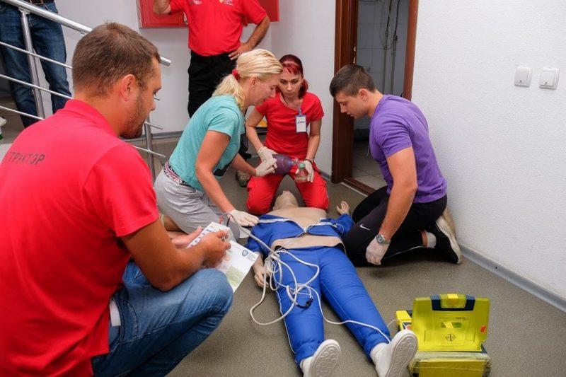 Тренінг з надсучасної реанімації для медиків Дніпропетровщини