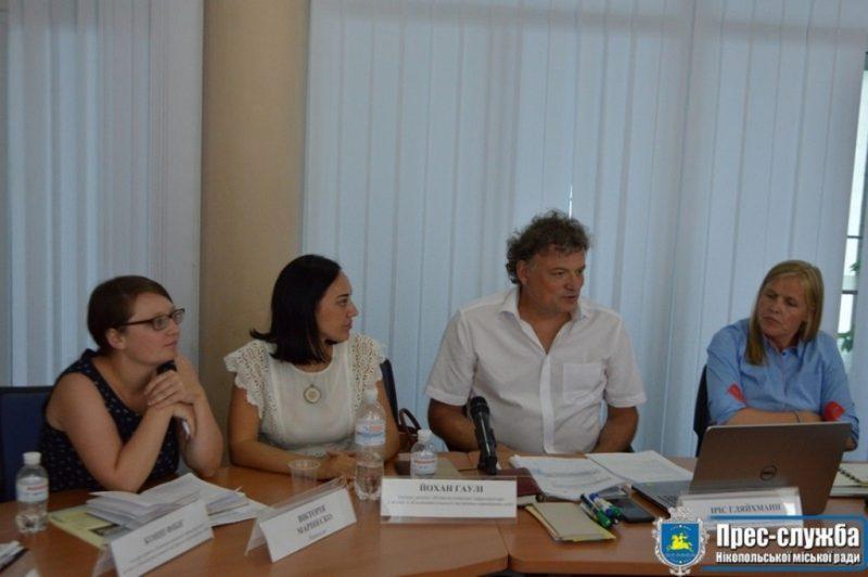 GIZ GmbH знову відвідало Нікополь