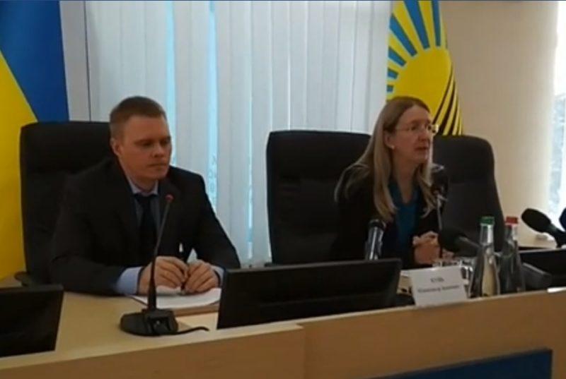 Брифінг в.о. міністра охорони здоров'я Уляни Супрун