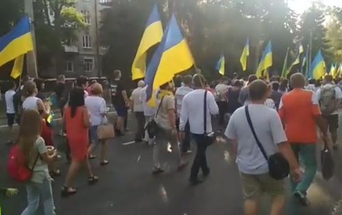 Святкова хода до Дня незалежності України (ч.1), Краматорськ