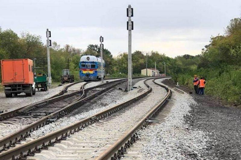 На Придніпровській залізниці ввели в експлуатацію роз'їзд