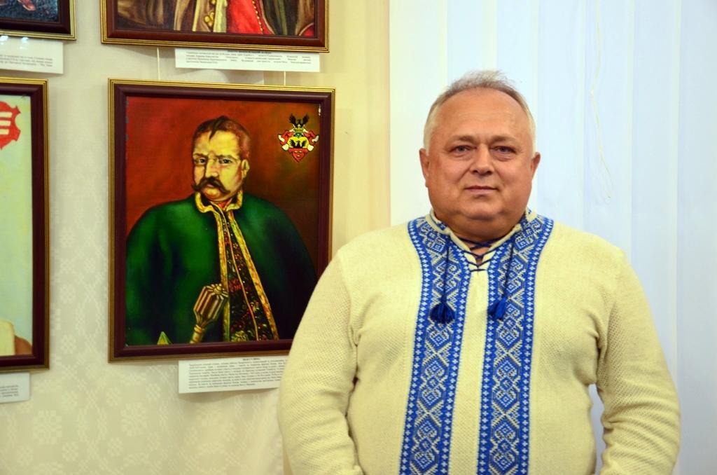У Дніпрі відкрилася виставка козацьких картин - Фото №2