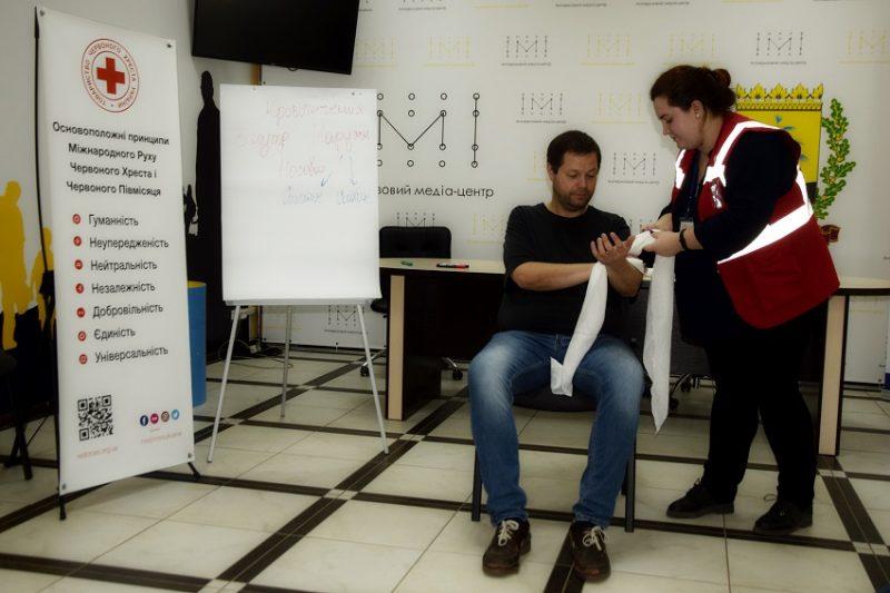 """АКМЦ-online: Семінар для працівників регіональних ЗМІ """"""""Актуальні питання забезпечення мінної безпеки"""" (ч.3)"""