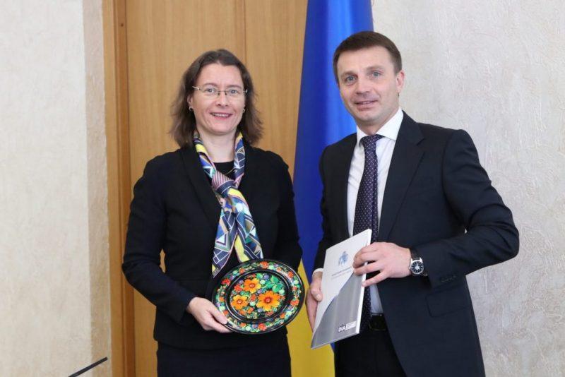 Посол Франції в Україні в Дніпрі зустрілася з керівниками міста та області