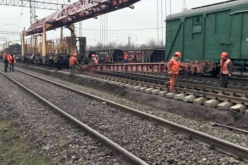 Залізниця готова до зміни логістики на Маріупольському напрямку