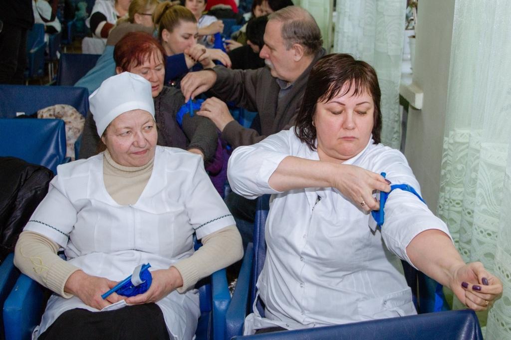 Медичних працівників вчать госпітальєри - Фото №3