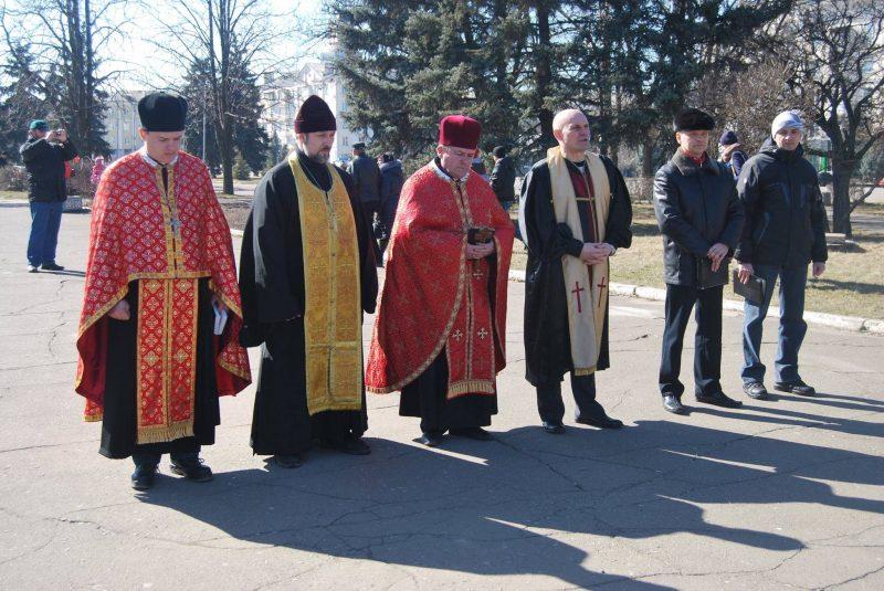 5 січня. Площа Миру. Молебен за мир, благополуччя та процвітання в Україні