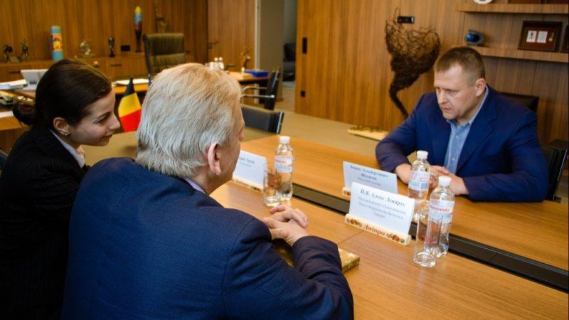 Перспективи інвестицій і співпраці Бельгії та Дніпра