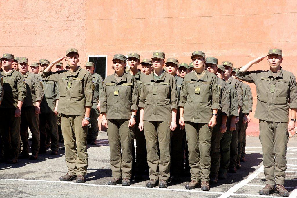 Військова частина НГУ відсвяткувала 67-му річницю - Фото №1