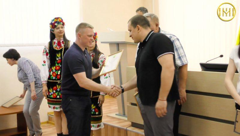 Нагороджували спортсменів та тренерів області