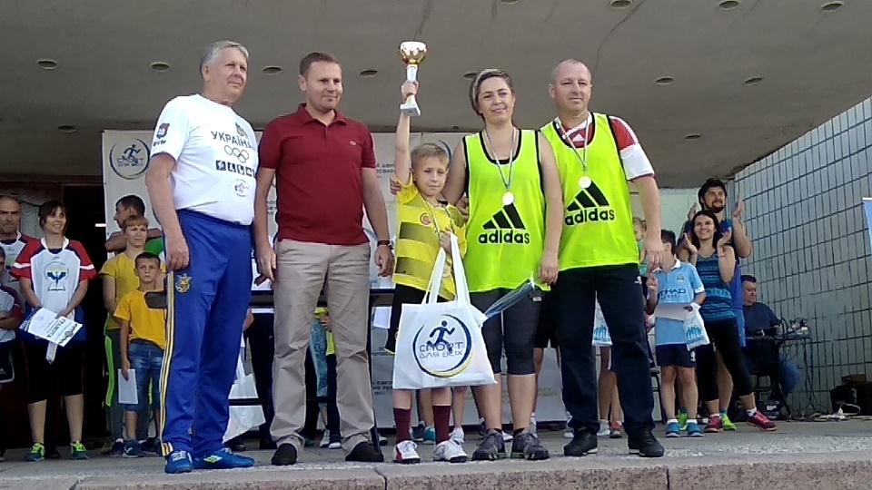 Родина з Костянтинівки буде представляти Донецьку область на всеукраїнських змаганнях «Тато, мама, я – спортивна сім'я»