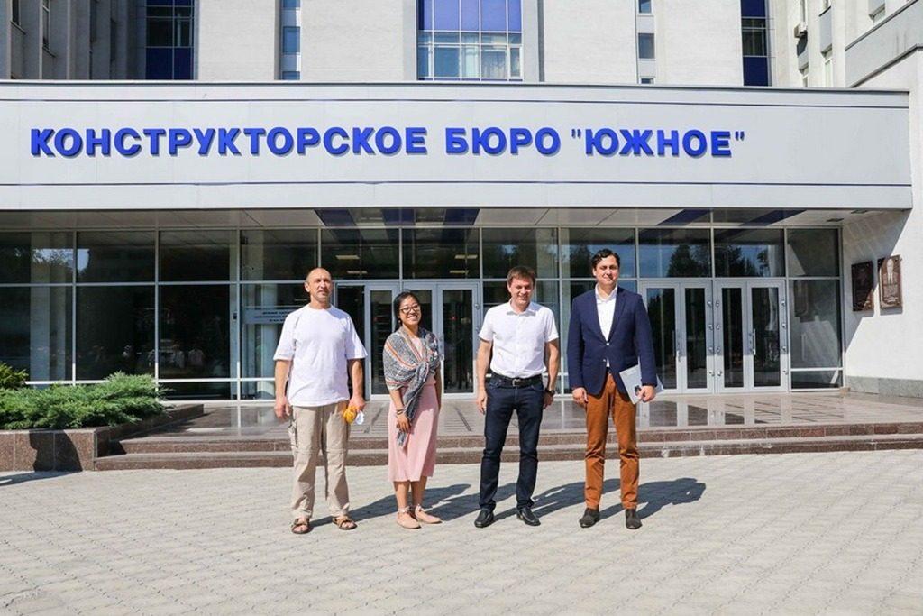 З українським КБ обговорювали питання співпраці у сфері освоєння Місяця