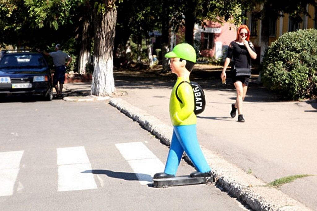 Щоб водії були уважнішими біля пішохідних переходів - Фото №1