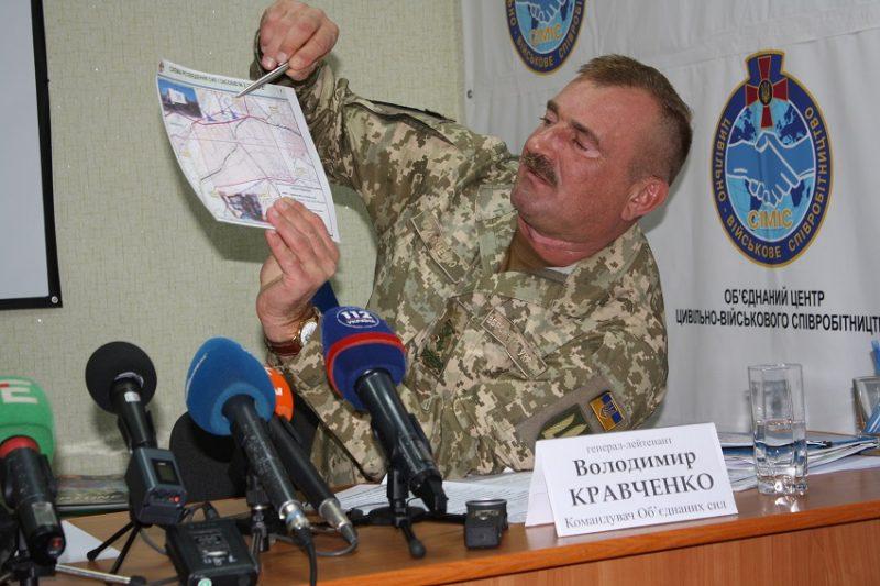 «Відбулося розведення сил у Золотому, на черзі – Петрівське та вся лінія розмежування» – Командувач ООС