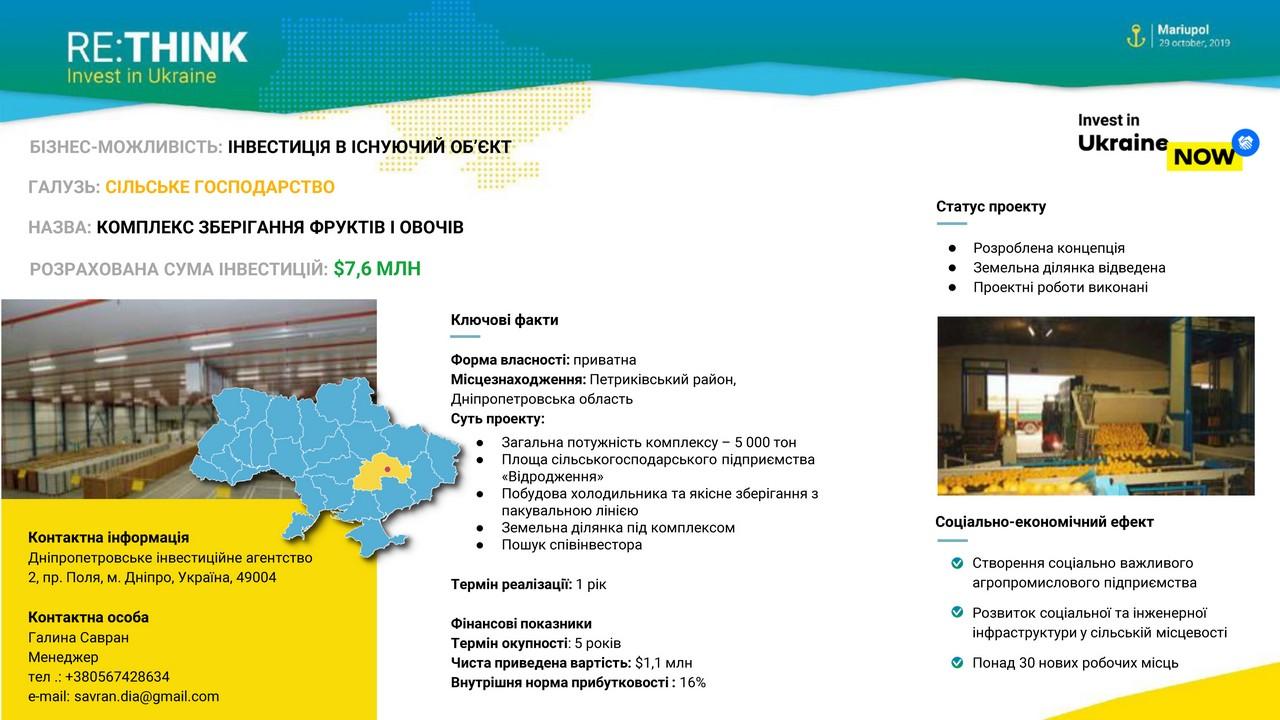 Дніпропетровщина на міжнародному форумі RE: THINK. Invest in Ukraine - Фото №6