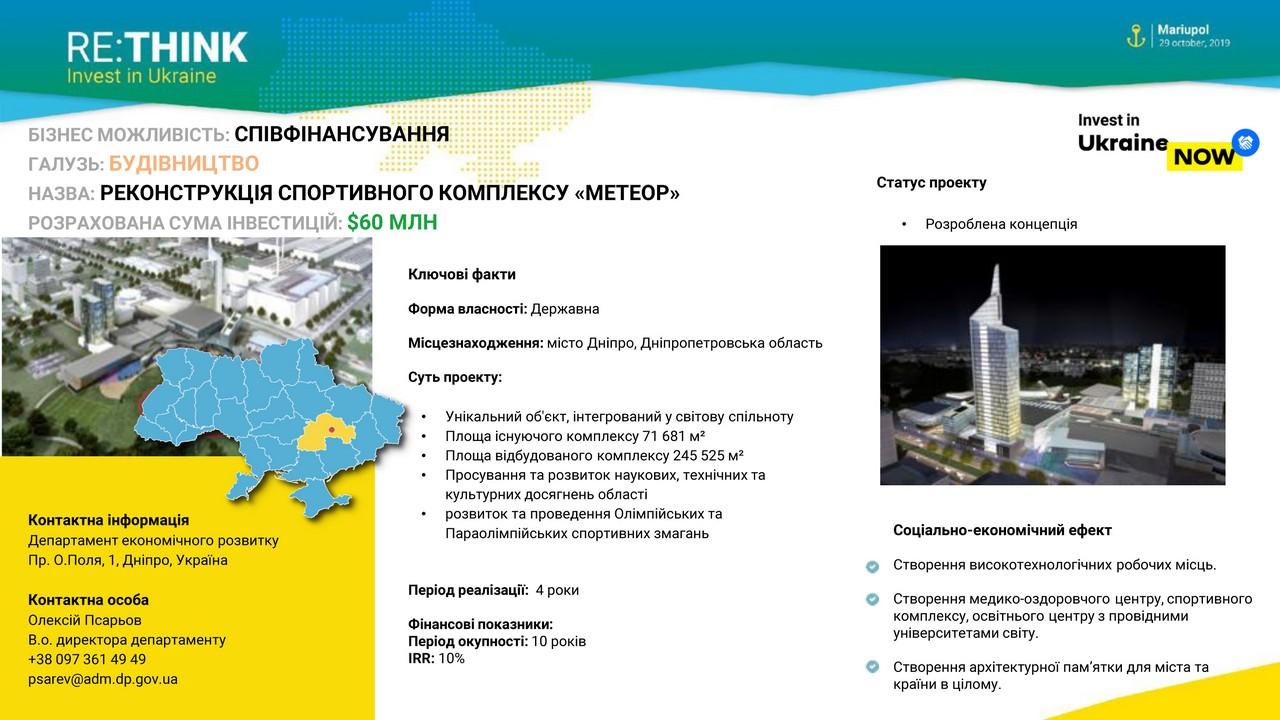 Дніпропетровщина на міжнародному форумі RE: THINK. Invest in Ukraine - Фото №9