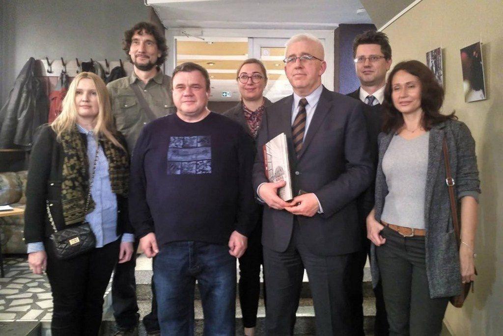 Фільм про українсько-російську війну показали у Вільнюсі