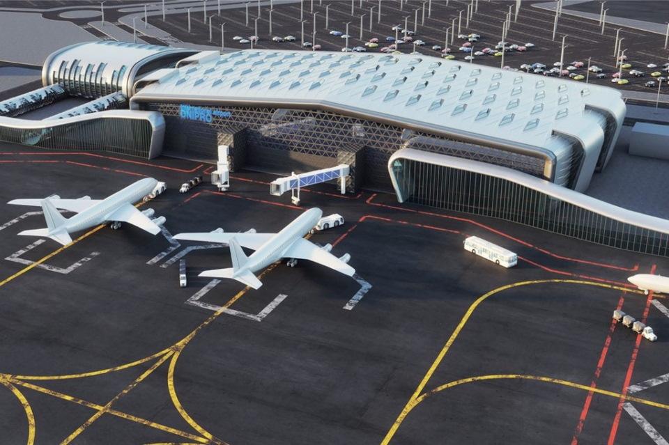Гроші на будівництво аеропорту в Дніпрі закладено