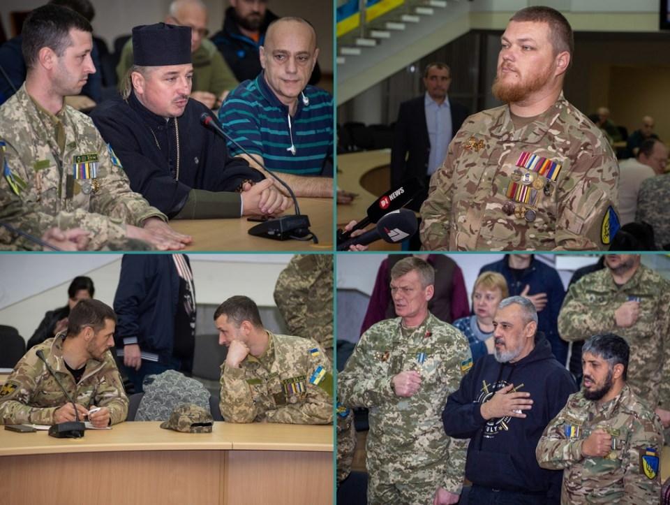 Новостворена Рада ветеранів АТО/ООС – перше засідання в Дніпропетровській ОДА - Фото №1