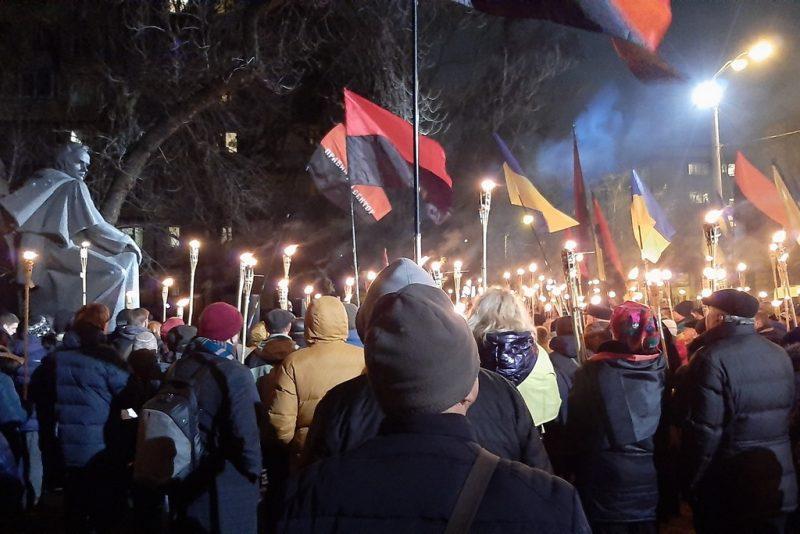 Річниця народження Бандери на Дніпропетровщині