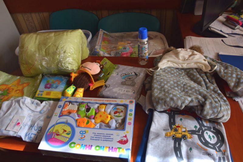 Подарунки немовлятам від Шахівської ОТГ