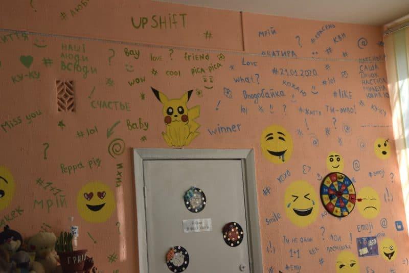 Команда десятикласників створила для своєї школи Центр емоційного розвантаження «Emoji»