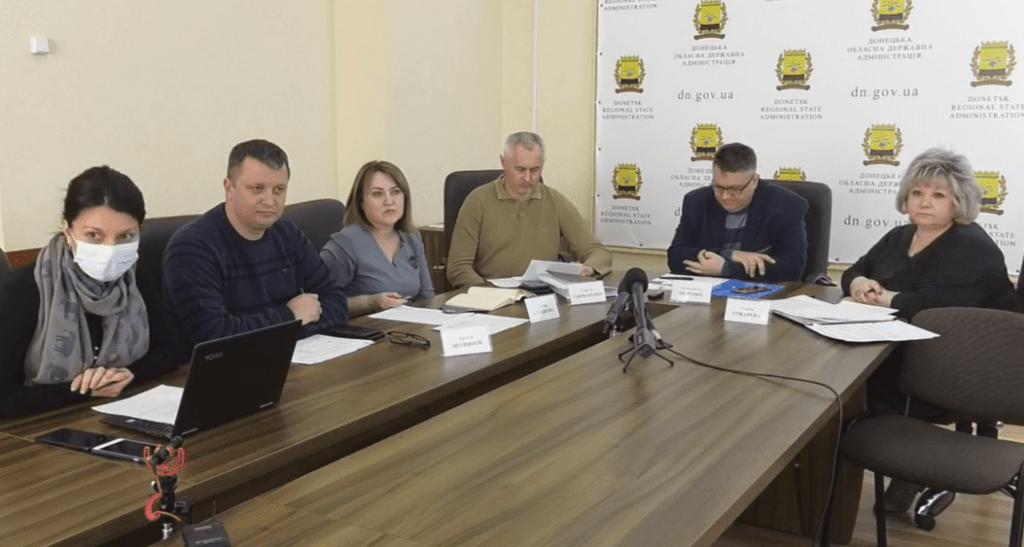 Посилення соцзахисту, дезінфекція вулиць та стан захворюваності на коронавірус на Донеччині