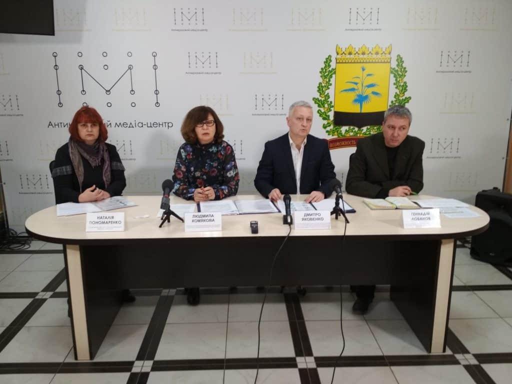 Заходи щодо запобігання появи коронавірусу у Краматорську