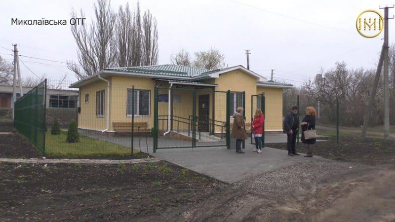 Фельдшерський пункт у селі Малинівка