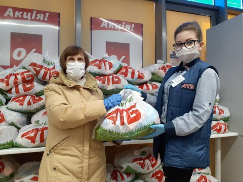 25 тисяч мешканців Донеччини отримають продуктові набори