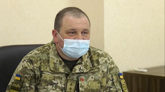 Начальник Краматорського прикордонного загону Анатолій Федорчук