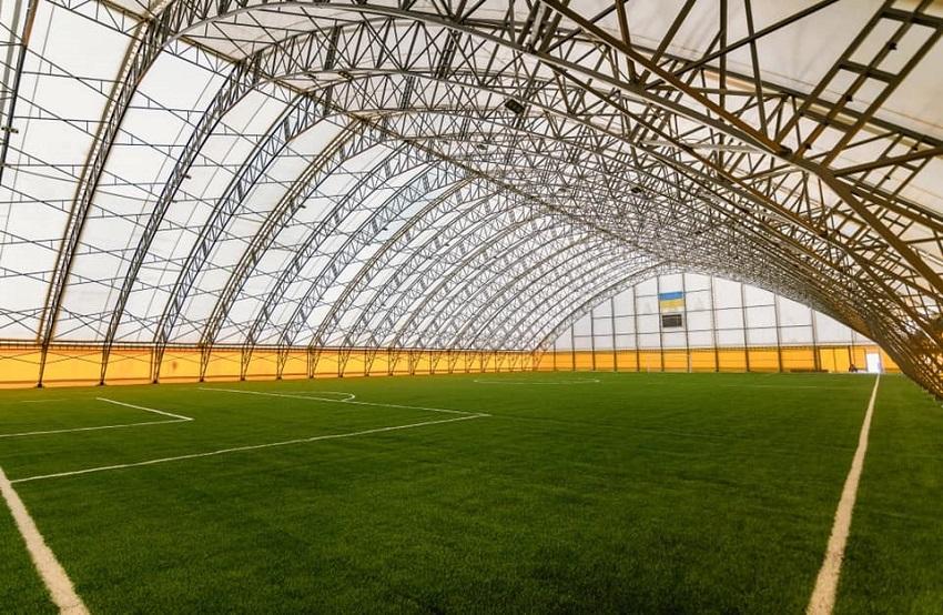 У Краматорську побудували перший в Україні спортивний об'єкт в рамках