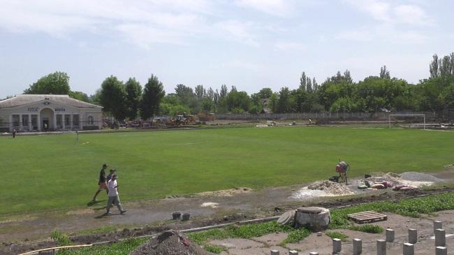 Реконструкція стадіону та парку у Слов'янську