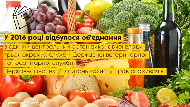 Держпродспоживслужба контролює якість продуктів і захищає права споживачів