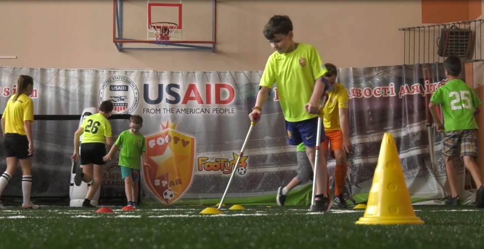 Футбол для особливих дітей – реальність завдяки «Футістару» - Фото №1