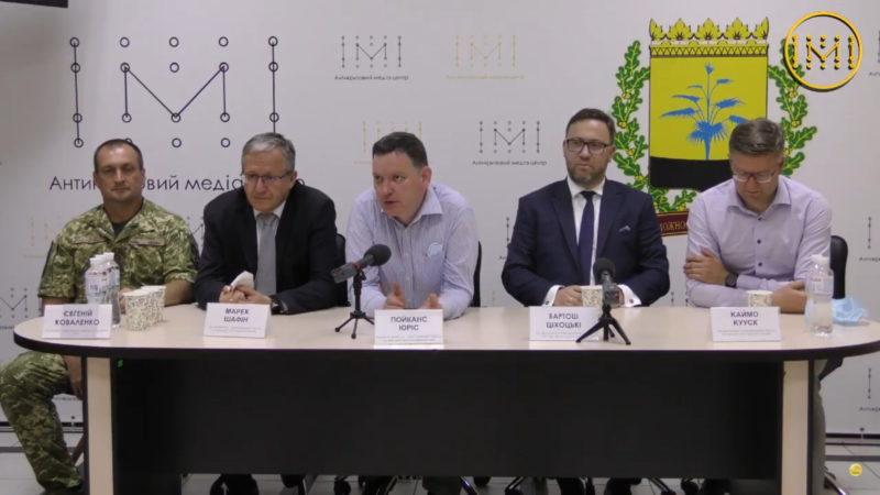 АКМЦ-online: прес-конференція спільної іноземної делегації
