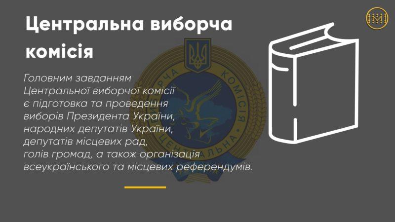 Центральна виборча комісія України забезпечує законність волевиявлення громадян