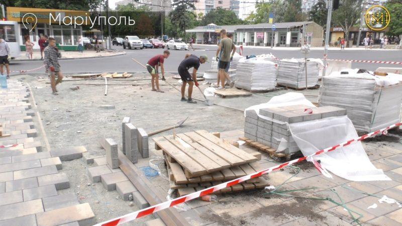 Вулиця не тільки для автомобілів – у Маріуполі застосовують нові стандарти реконструкції доріг