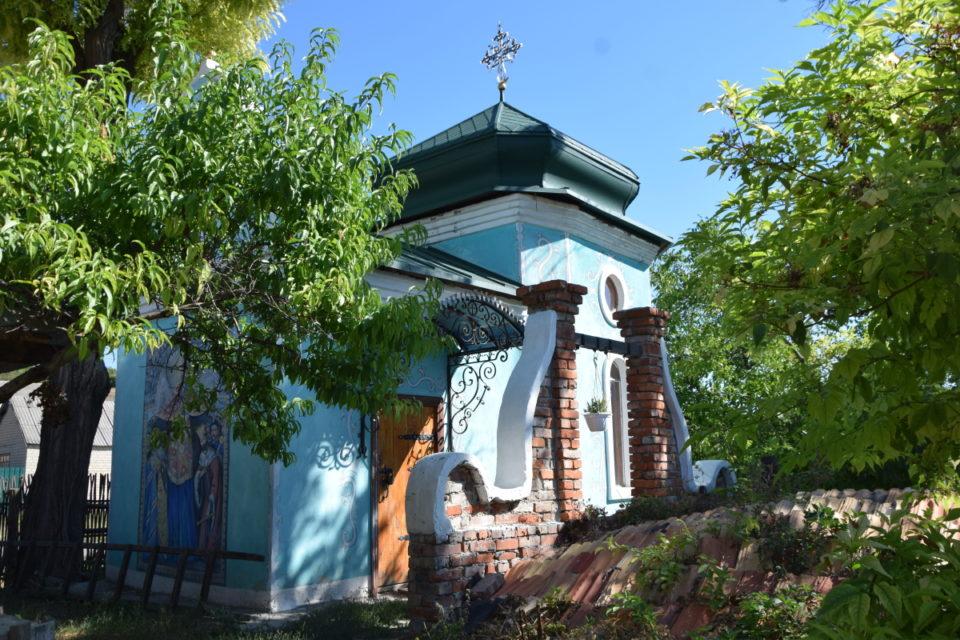 Старовинна будівля в селі Маяки Слов'янського району - Фото №3