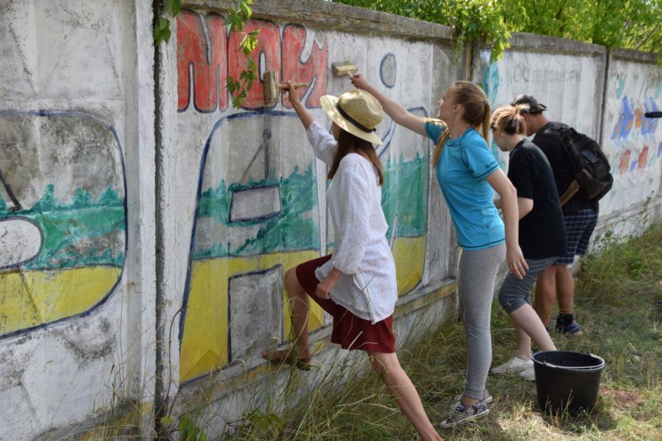 Волонтери БУР приїхали на Донеччину будувати Україну - Фото №6